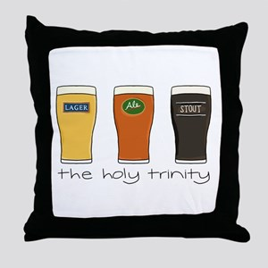 The Holy Trinity - Throw Pillow