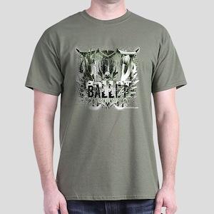 Not Your Little Sister's Ballet Shirt Dark T-Shirt