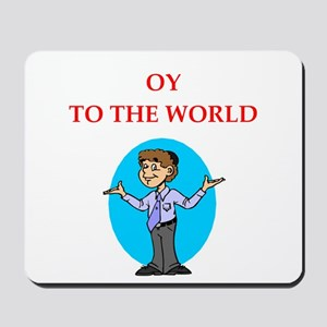 Funny joke on gifts and t-shirts. Mousepad