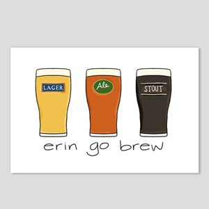 Erin Go Brew - Postcards (Package of 8)