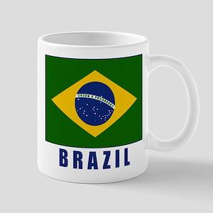 Flag_of_Brazil brazil Mugs