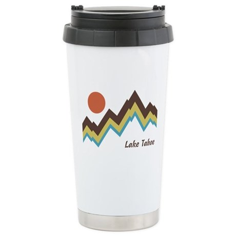 Lake Tahoe Stainless Steel Travel Mug