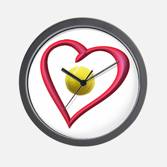 TENNIS LOVE Wall Clock