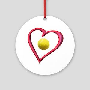 TENNIS LOVE Ornament (Round)