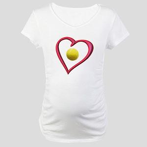 TENNIS LOVE Maternity T-Shirt