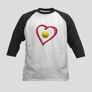 TENNIS LOVE Kids Baseball Jersey