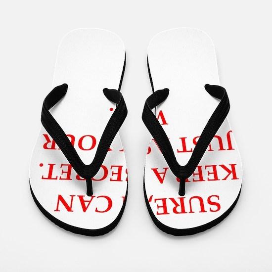 secret Flip Flops