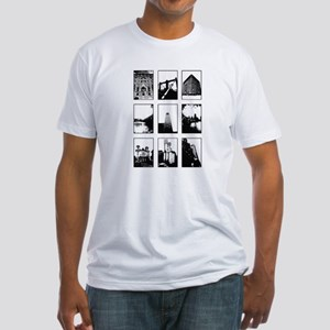 Snapshots Of The City Fitted T-Shirt