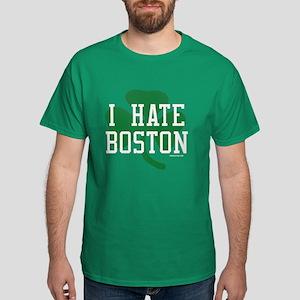 I Hate Boston St. Patrick's D Dark T-Shirt