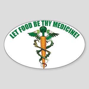 Wholefood Farmacy Logo Oval Sticker