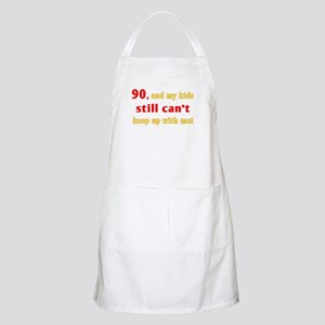 Witty 90th Birthday Apron
