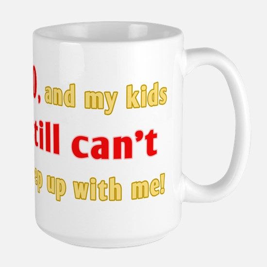 Witty 90th Birthday Large Mug