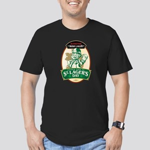 Tribute to Irish Lager. Men's Fitted T