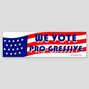 We Vote Pro-gressive