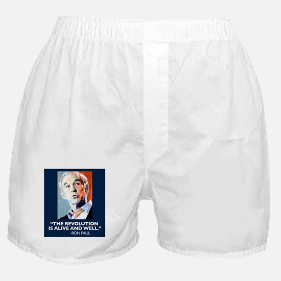 Ron Paul - The Revolution is Boxer Shorts