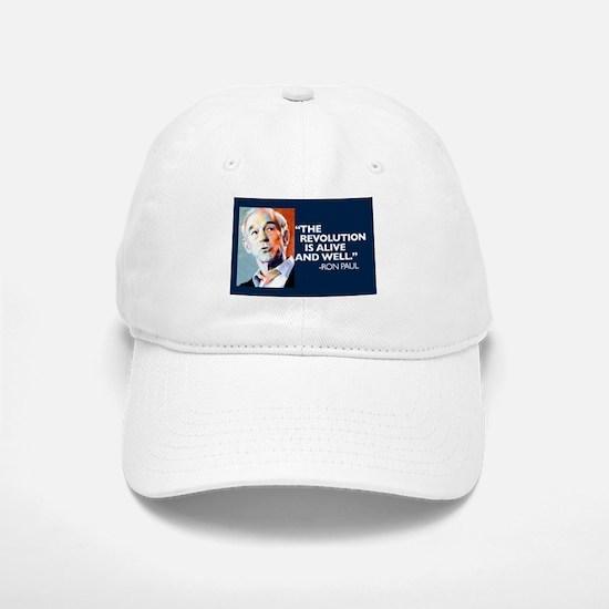 Ron Paul - The Revolution is Baseball Baseball Cap
