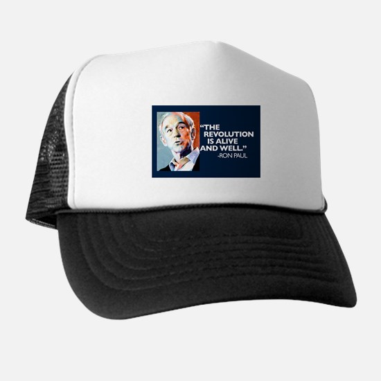 Ron Paul - The Revolution is Trucker Hat