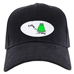 Follow Your Frog Black Cap