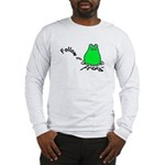 Follow Your Frog Adult Long Sleeve T-Shirt