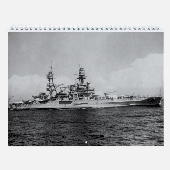 USS Pennsylvania Ship's Image Wall Calendar