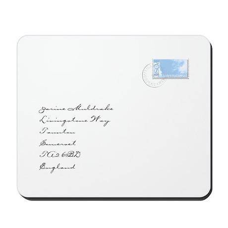 International Envelope Mousepad