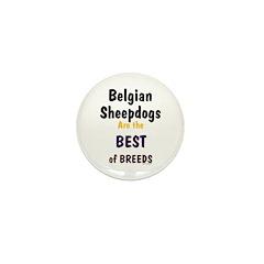 Belgian Sheepdog Best Breeds Mini Button (100 pack