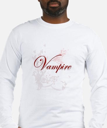 Vampire Ornamental Long Sleeve T-Shirt