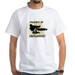 Powered By TKD White T-Shirt