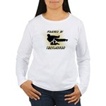 Powered By TKD Women's Long Sleeve T-Shirt