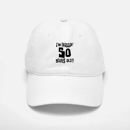 50TH BIRTHDAY Baseball Baseball Cap