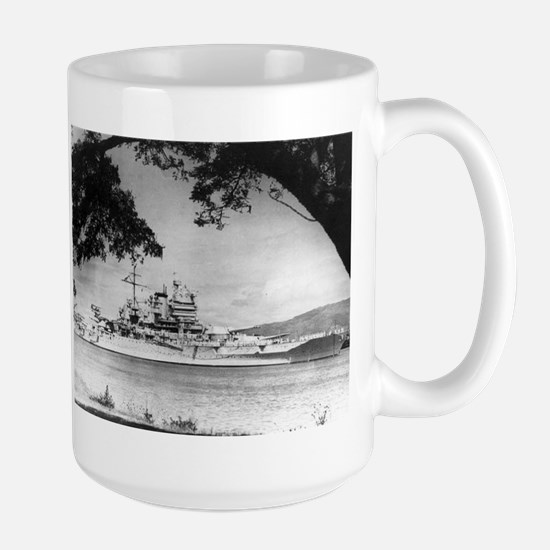 USS New Mexico Ship's Image Large Mug