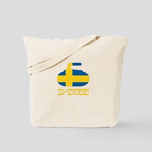 Sweden Curling Tote Bag