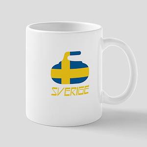 Sweden Curling Mug