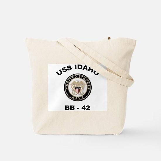 USS Idaho Ship's Image Tote Bag