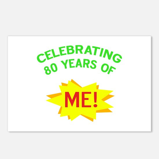 Celebrating My 80th Birthday Postcards (Package of