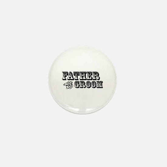 Father of the Groom - Old West Mini Button
