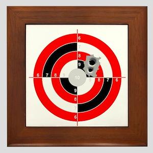 Target Shooting Framed Tile