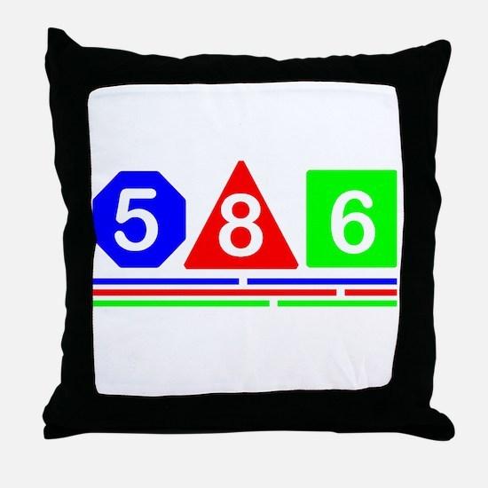 586 Modern design Throw Pillow