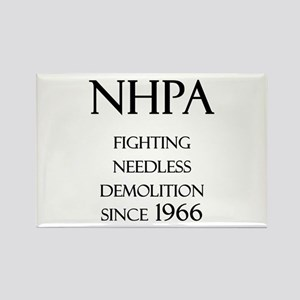 NHPA Rectangle Magnet