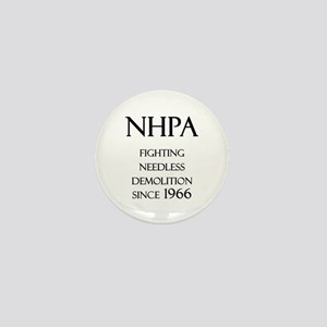 NHPA Mini Button
