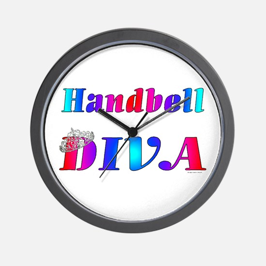 Handbell Diva Wall Clock