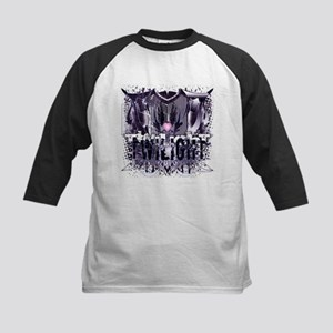 New Twilight Grunge Love Crest Kids Baseball Jerse