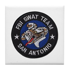 FBI San Antonio SWAT Tile Coaster