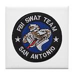FBI San Antonio SWAT Tile Coaster