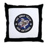 FBI San Antonio SWAT Throw Pillow