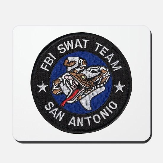 FBI San Antonio SWAT Mousepad