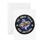FBI San Antonio SWAT Greeting Cards (Pk of 20)