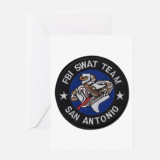 FBI San Antonio SWAT Greeting Card