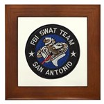 FBI San Antonio SWAT Framed Tile