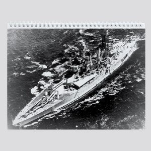 USS West Virginia Ship's Image Wall Calendar